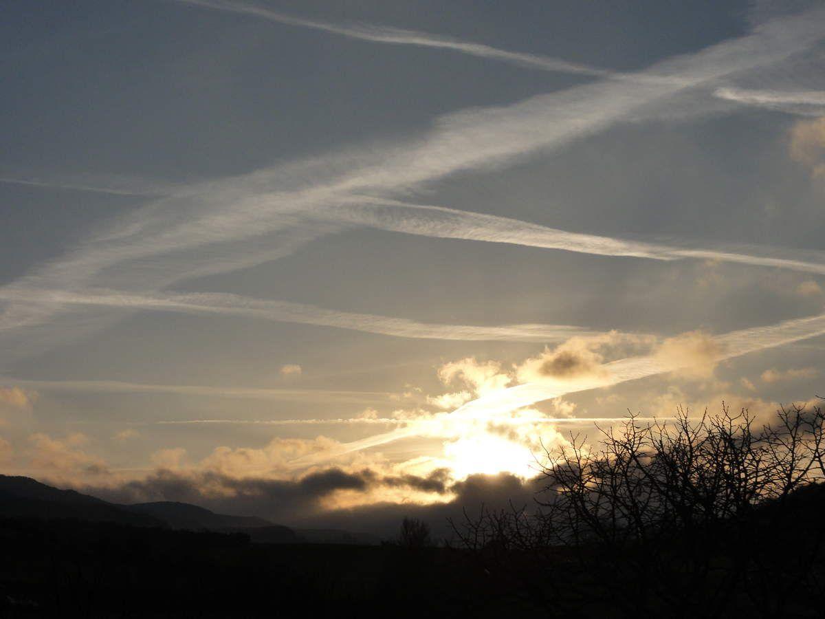 Lever de soleil ce 25 décembre depuis Rayssac