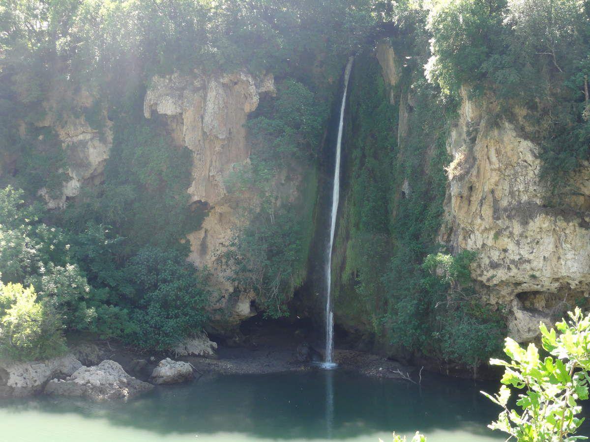 La cascade des Baumes (St-Rome de Tarn)