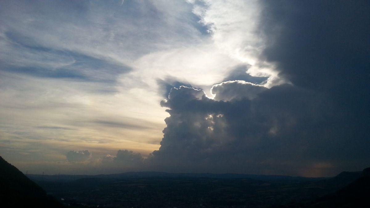 Ciel orageux du 13 juin 2017