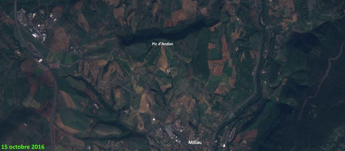Octobre 2016 : au Nord de Millau
