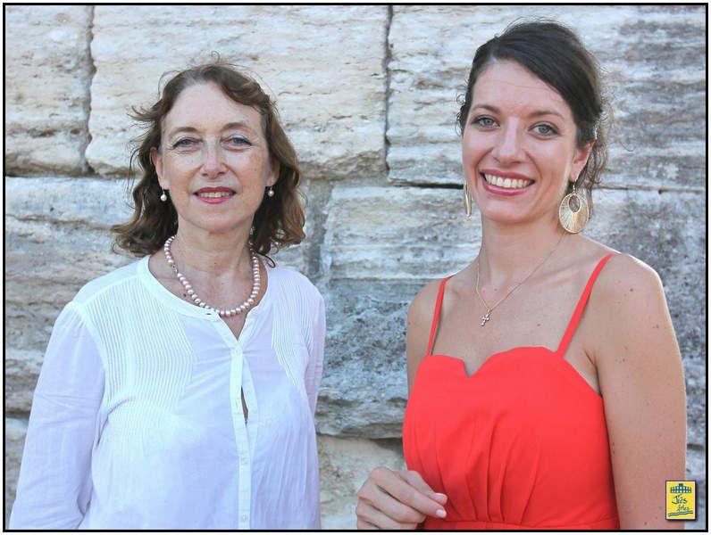... Marie Hugo et quelques-unes de ses oeuvres ... et en compagnie de Cécilia Arbel, soprano, que l'on entendra une nouvelle fois au cours de la corrida goyesque d'Arles 2015 ...