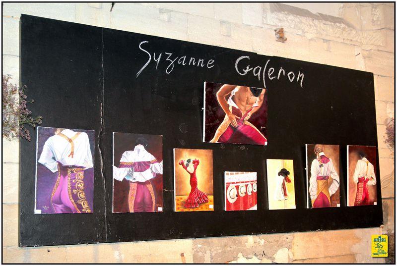 """... PRÉSENTATION DE L'ARTISTE-PEINTRE """"AMATEURE"""" SUZANNE GALERON ET DE SES ŒUVRES ..."""