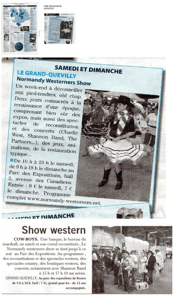 NORMANDY WESTERNERS SHOW 2015