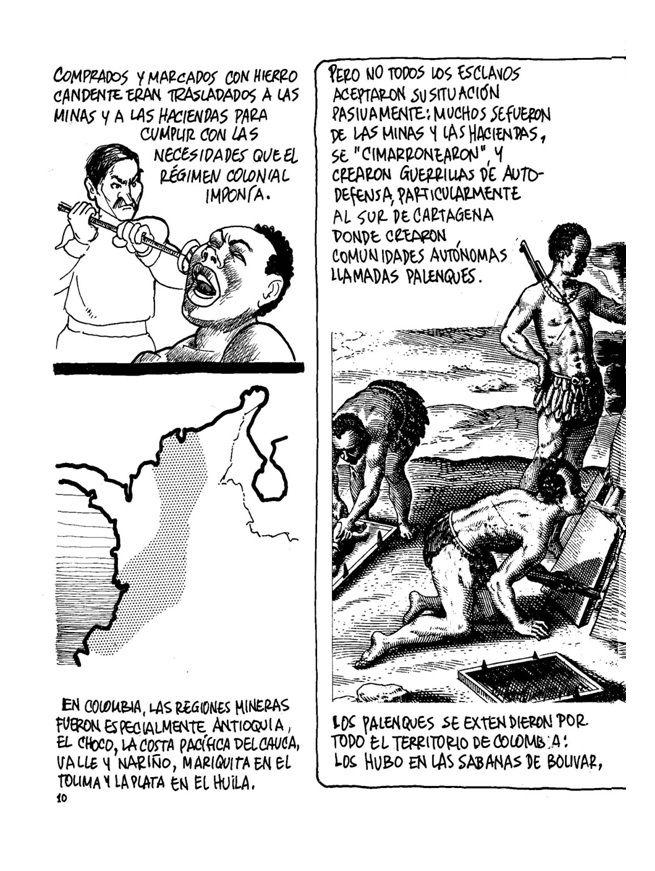 La Historia de Colombia 3 Sin permiso - El Esclavismo motor del Capitalismo