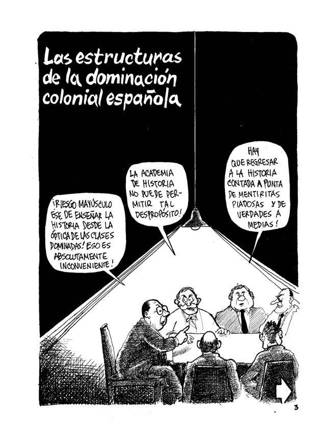 La Historia de Colombia 4 Sin permiso - Las Estructuras de la Dominación Colonial Española