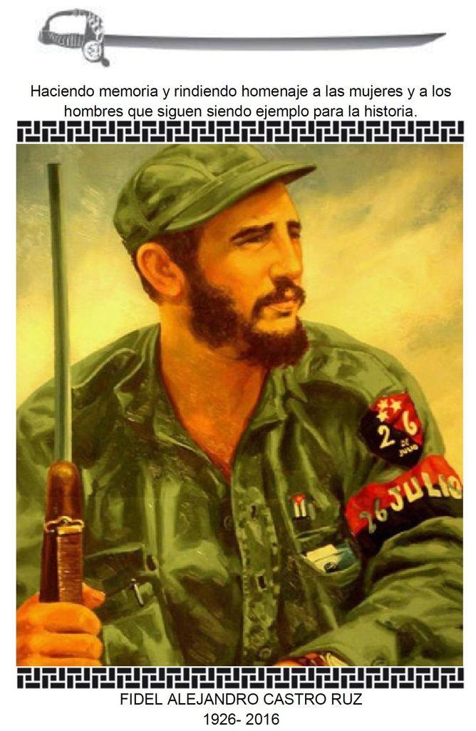 In Memoriam: Comandante Fidel Castro Ruz