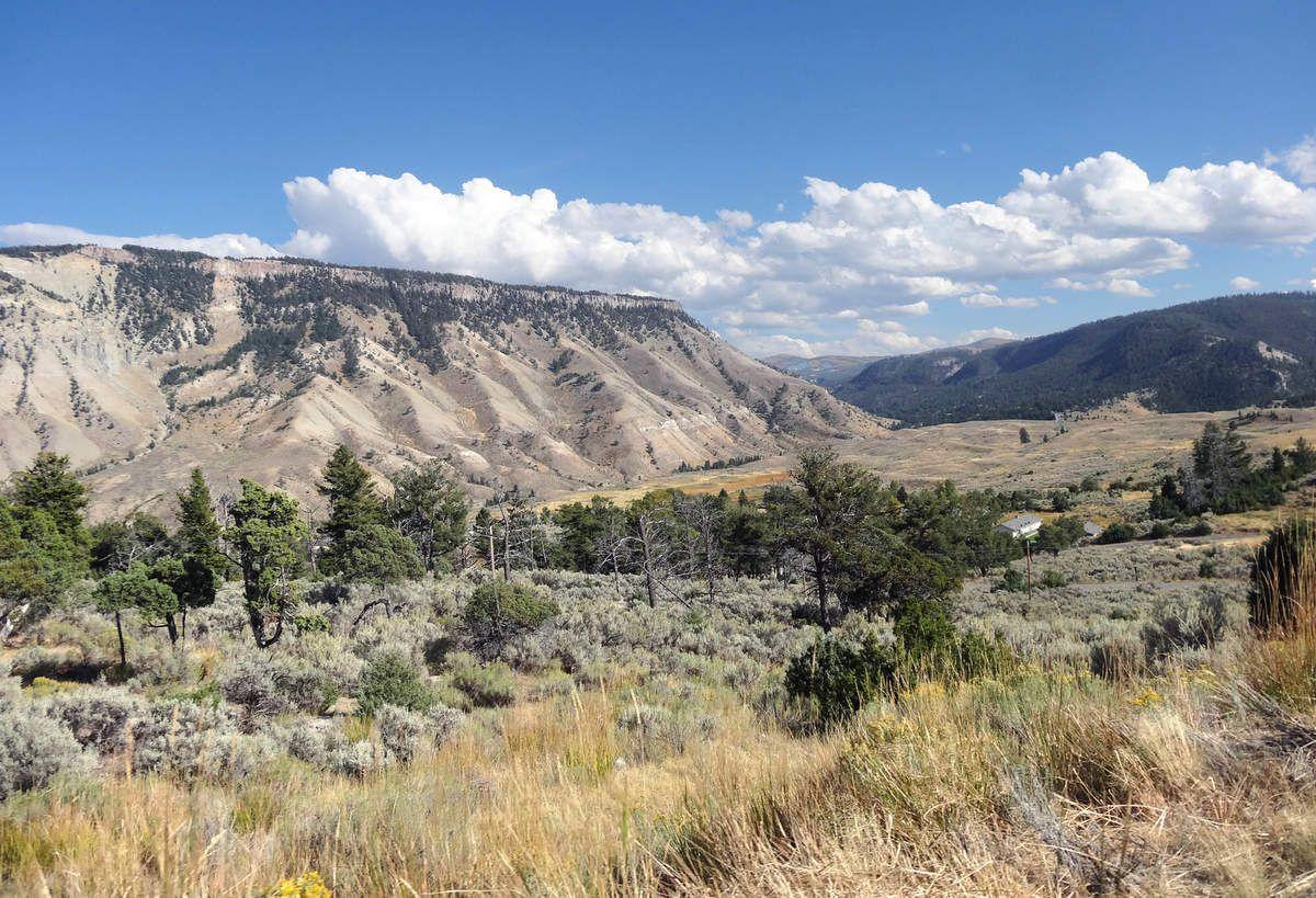 Yellowstone nord-est