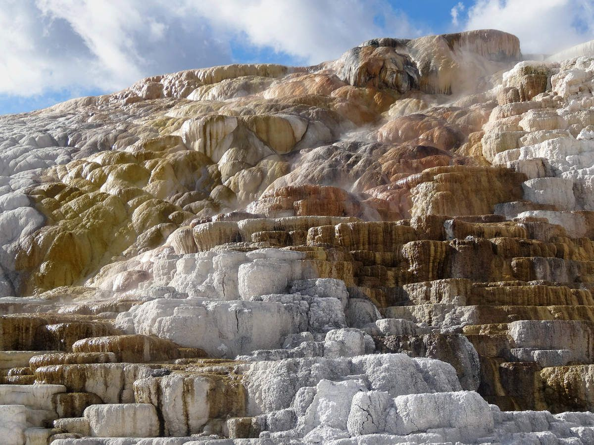 Yellowstone Palette Springs