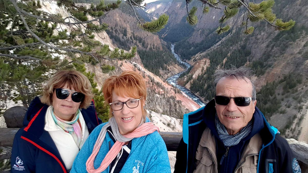 Yellowstone Canyon nous