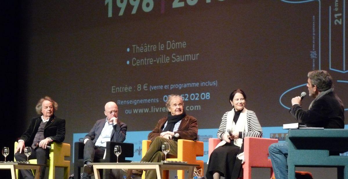 Gonzague Saint-Bris, Jean-Joseph Julaud, Pierre Perret, Irène Frain, Philippe Lefait.
