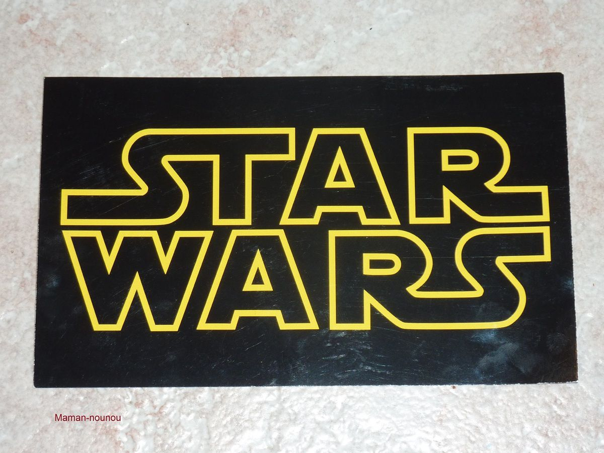 Exceptionnel Carte invitation anniversaire Star Wars - LE BLOG DE MAMAN NOUNOU XN38