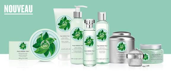 Fuji Green Tea chez The Body Shop