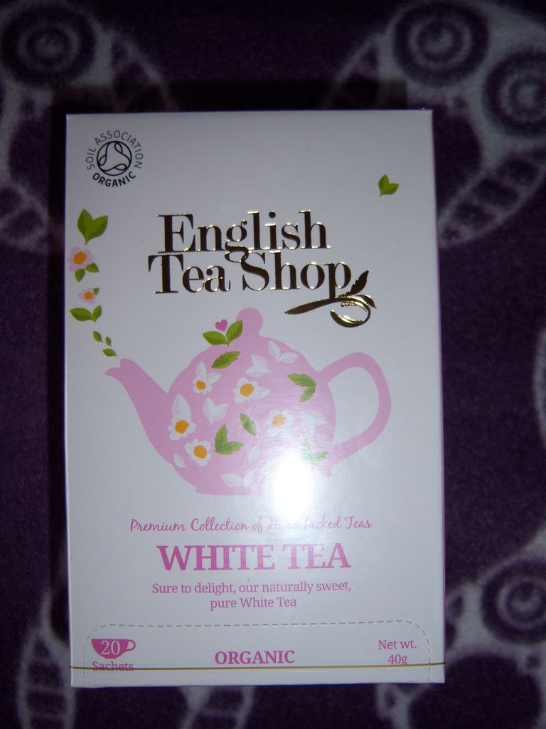 Thé blanc de English Tea Shop