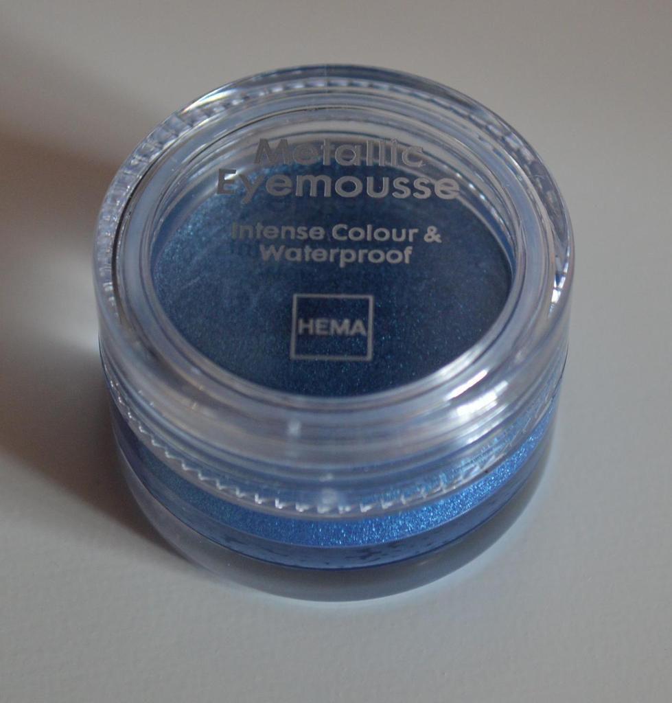 Metallic Eyemousse Blue de Hema