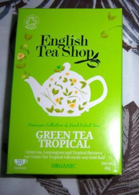 Thé vert tropcial de English Tea Shop