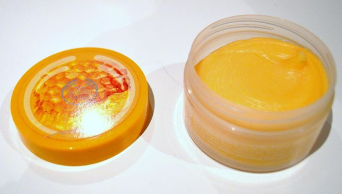 Exfoliant crème Honeymania de The Body Shop