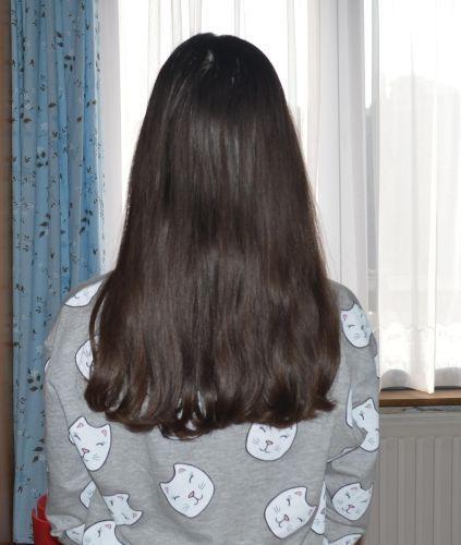 Mes cheveux ce moi-ci...