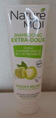 Shampooing extra doux à l'amande de Naturé Moi