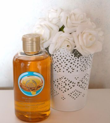 Gel douche à l'huile d'argan sauvage de The Body Shop