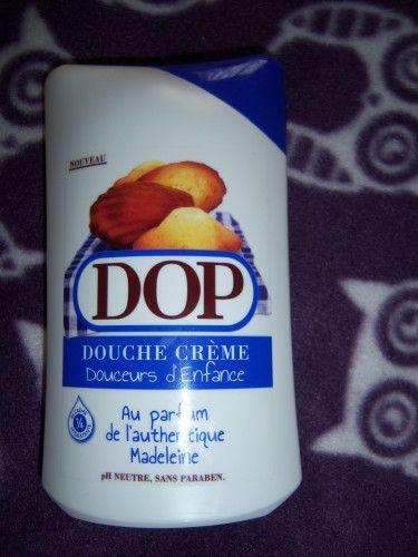 Douche crème à la madeleine de DOP