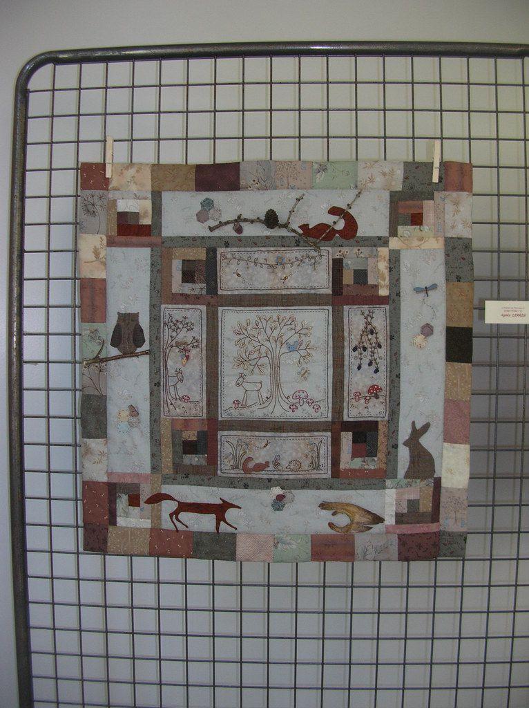 Exposition de patchwork à Ferrette