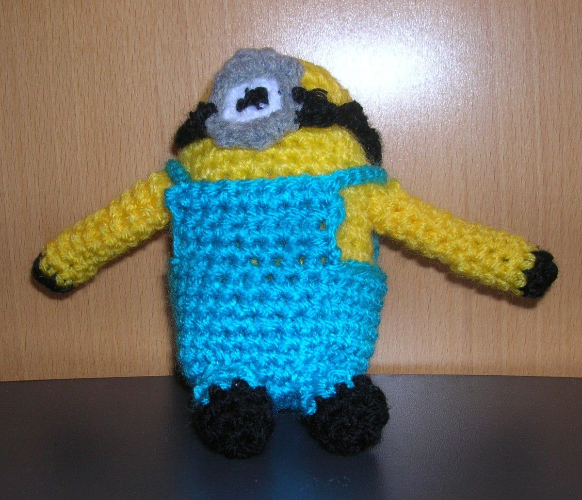 Minions de l'atelier crochet