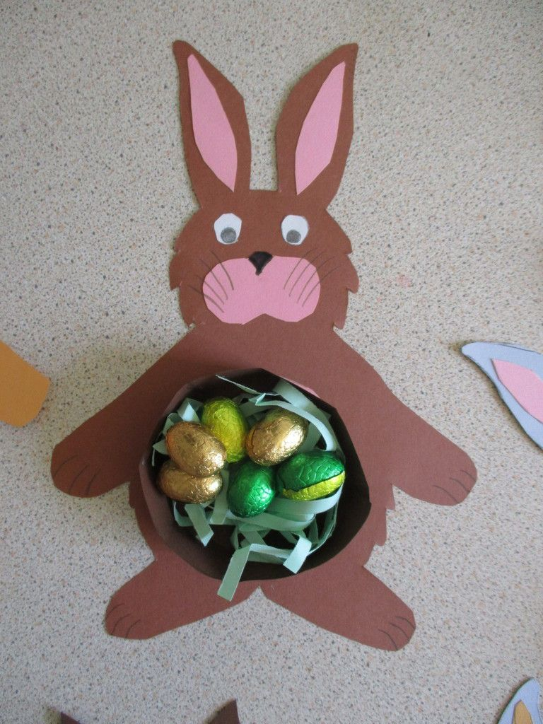 Bricolages de Pâques à l'école