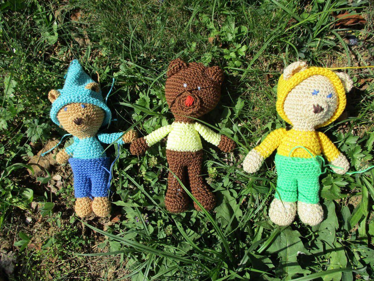 Les oursons de mes petites élèves
