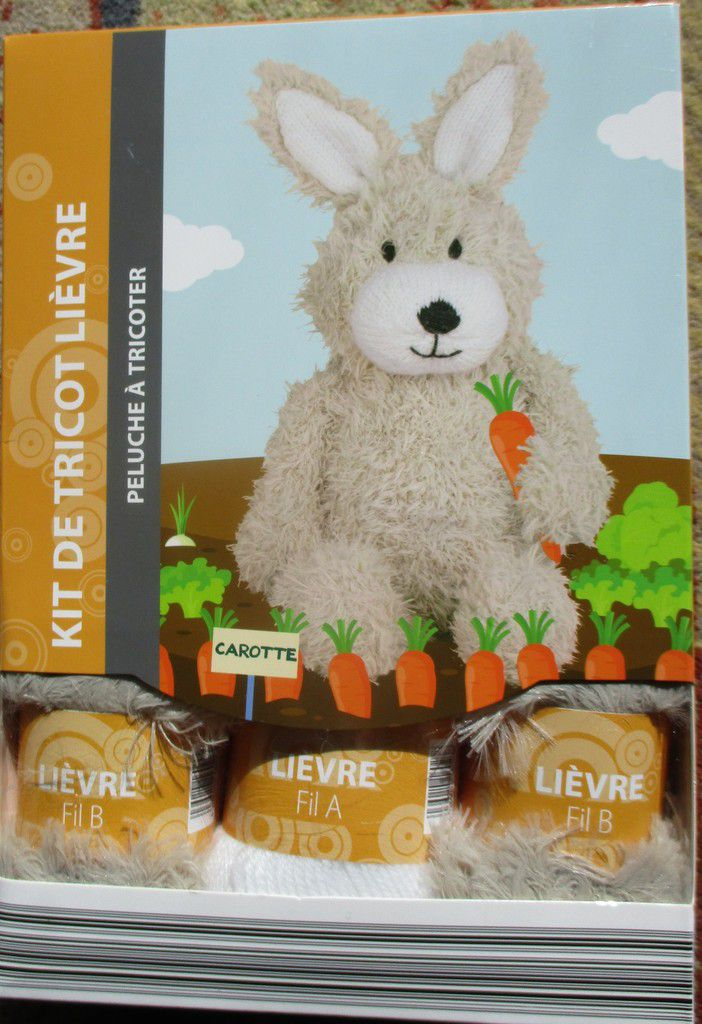 kit tricot animaux