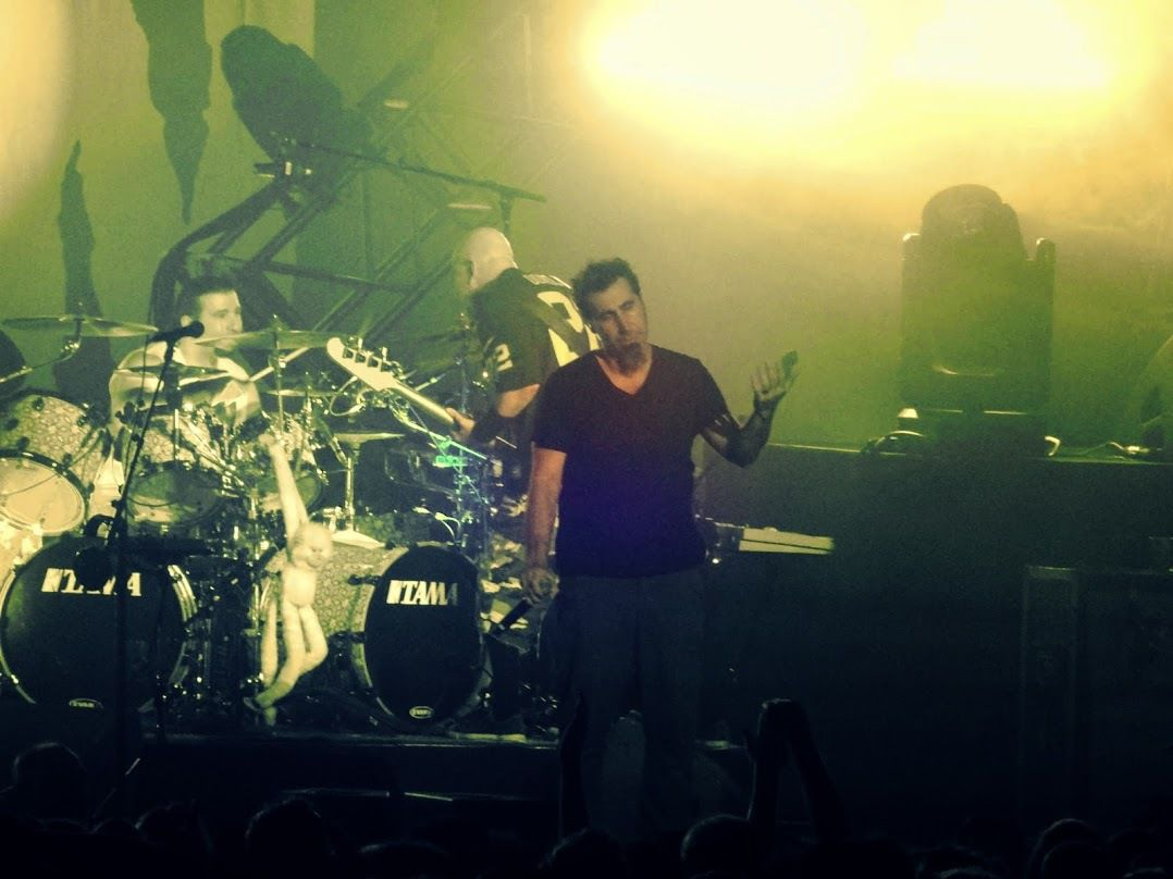 System of a Down à Forest National - le 16 avril 2015  - BIS