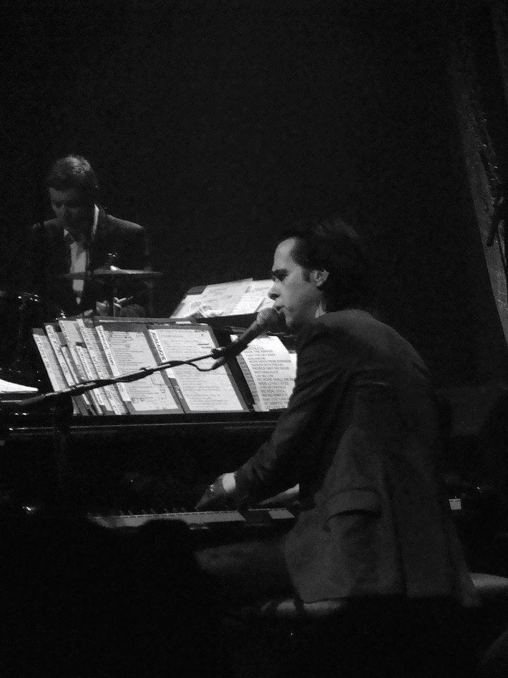 Nick Cave au Cirque Royal de Bruxelles, le 10 mai 2015