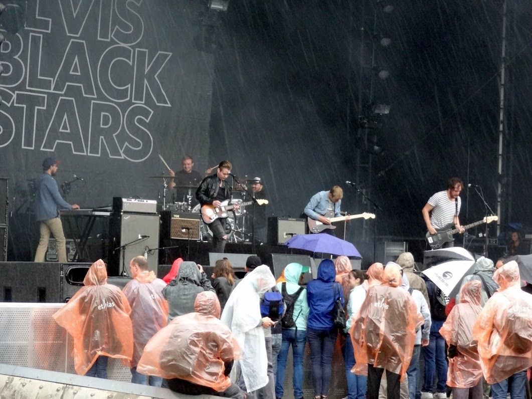 Brussels Summer Festival 2015 ( day 2) : Elvis Black Stars, Moriarty, Cats on Trees - Mont des Arts - Bruxelles, le 15 août 2015