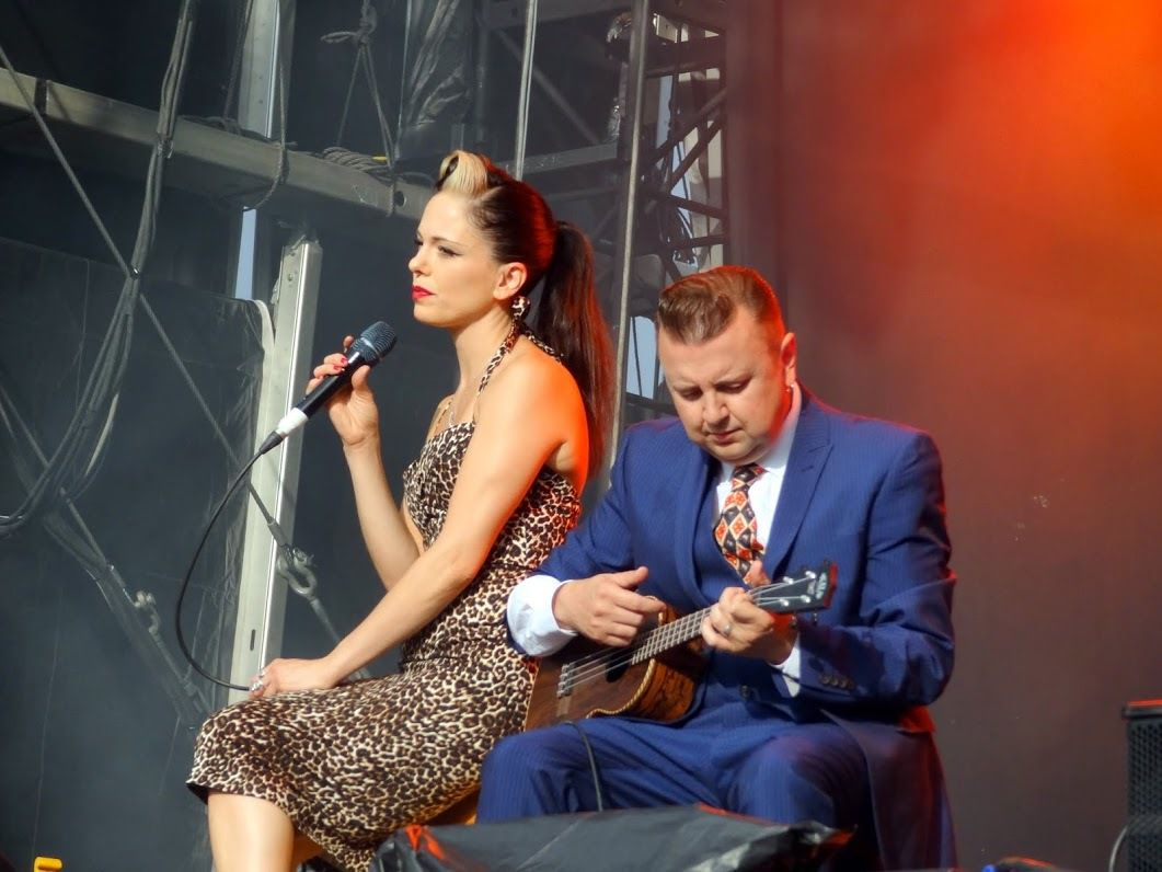 Brussels Summer Festival 2015 ( day 7) : Imelda May - The Ting Tings- The Subs - Place des Palais - Bruxelles, le 20 août 2015