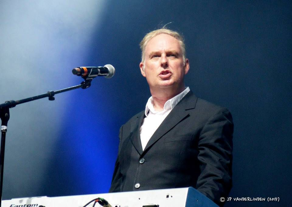Brussels Summer Festival 2015 ( day 10) : Paon- Orchestral Manoeuvres in the Dark - Aaron- Place des Palais - Bruxelles, le 23 août 2015