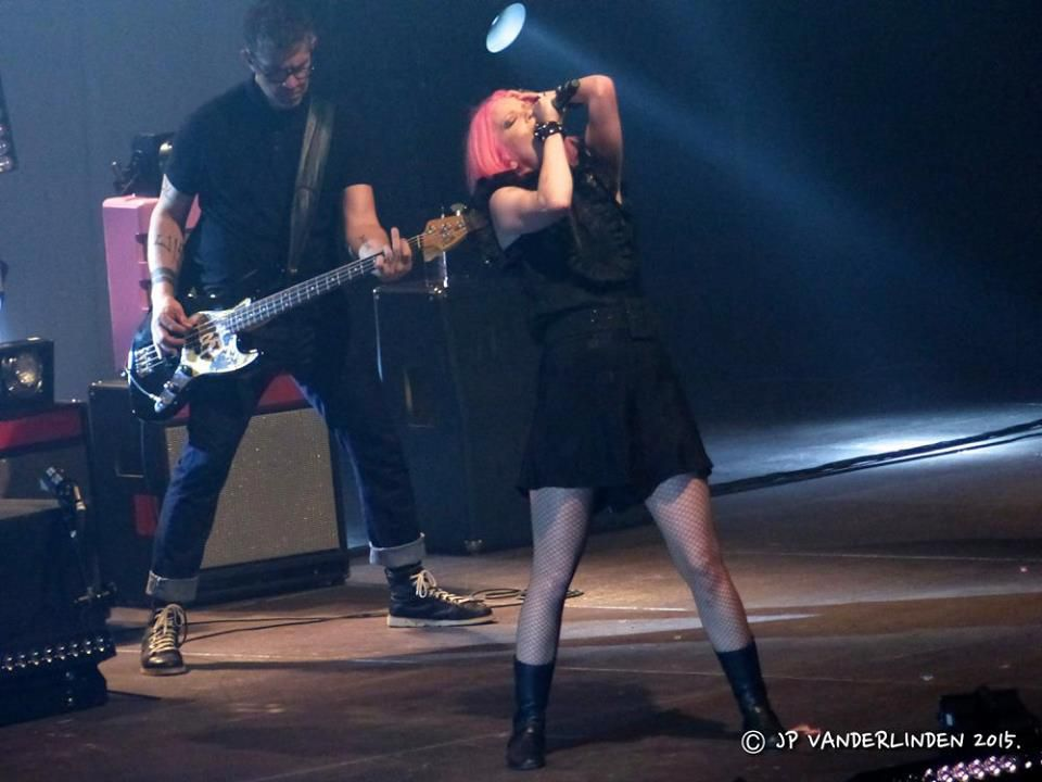 Garbage - 20 Years Queer tour - Forest National- le 5 novembre 2015