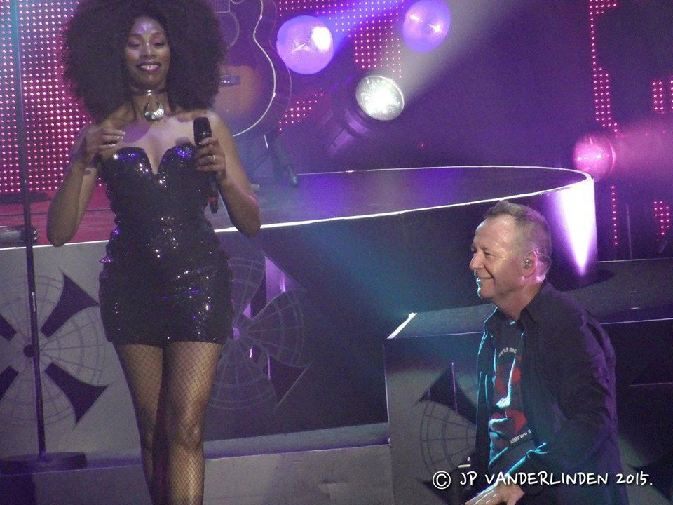 Simple Minds - Forest National, le 14 novembre 2015