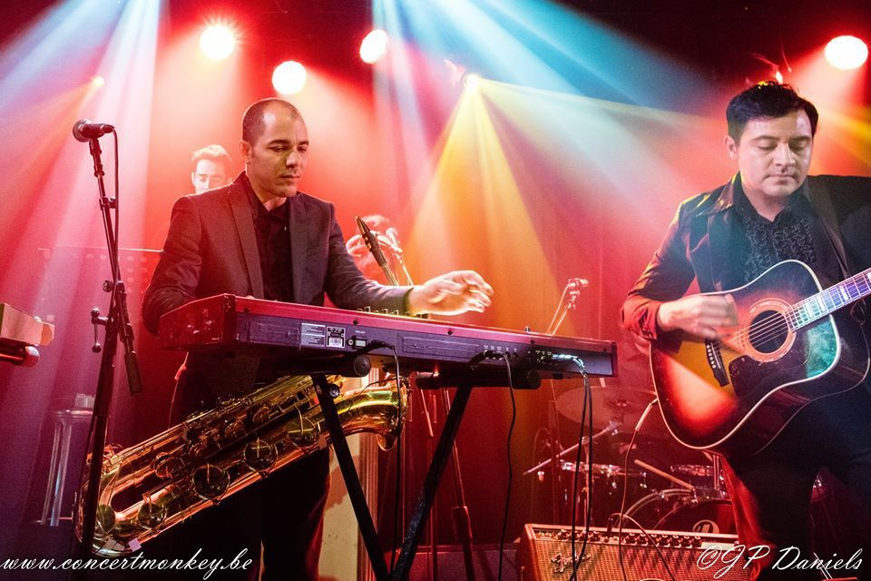 Orkesta Mendoza et La Negra Albina à l'Ancienne Belgique ( Club), Bruxelles, le 30 novembre 2015