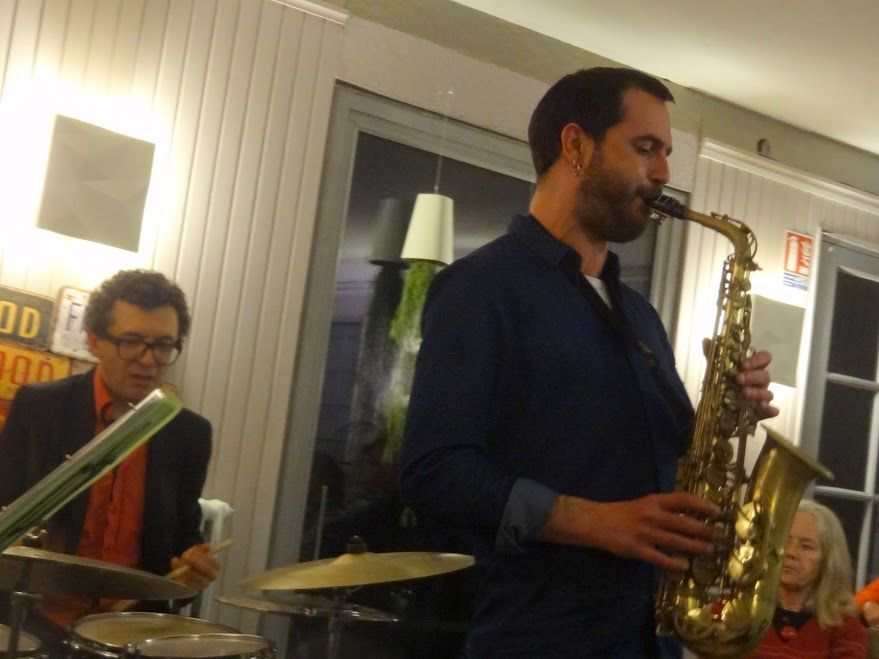 Clément Abraham Quartet - Hôtel Bar Le Saint - Yves à Tréguier ( 22), le 25 mars 2016