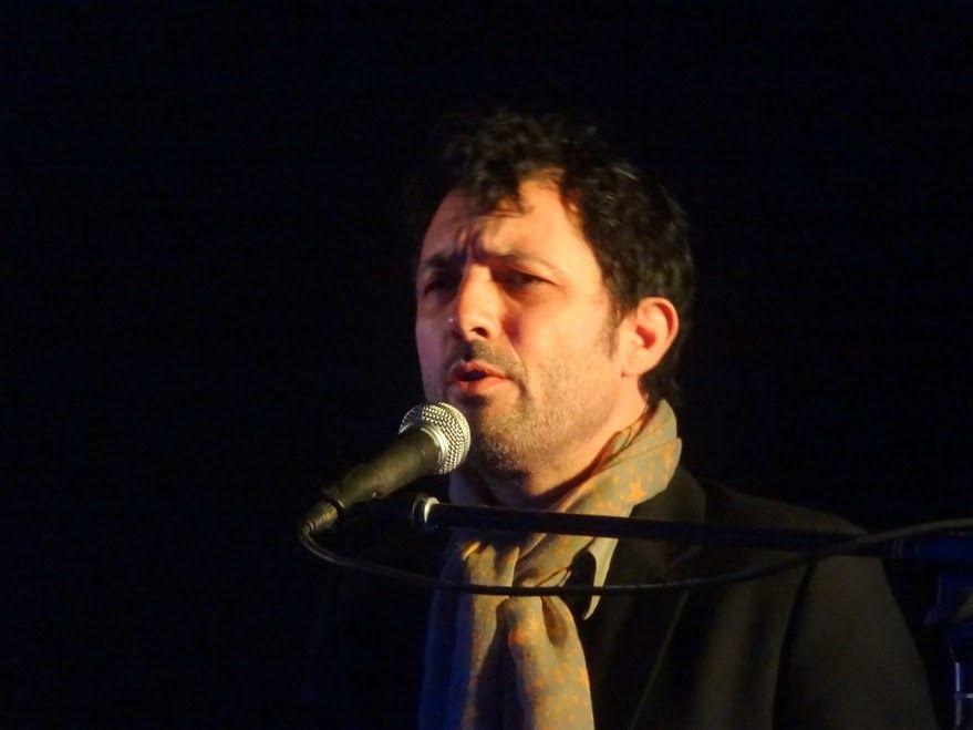 L'amour ping-pong, lecture-concert - lecture par Brigitte Giraud et chant par Albin de la Simone, à l'Estran, Binic ( 22) , le 27 mars 2016