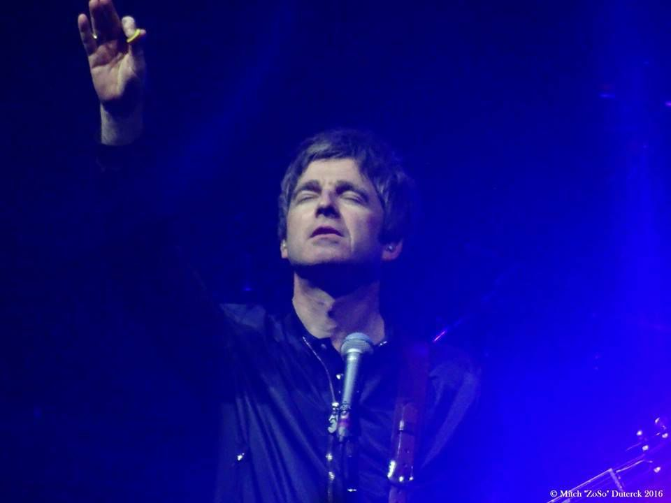 Noel Gallagher's High Flying Birds - Forest National - le 17 avril 2016
