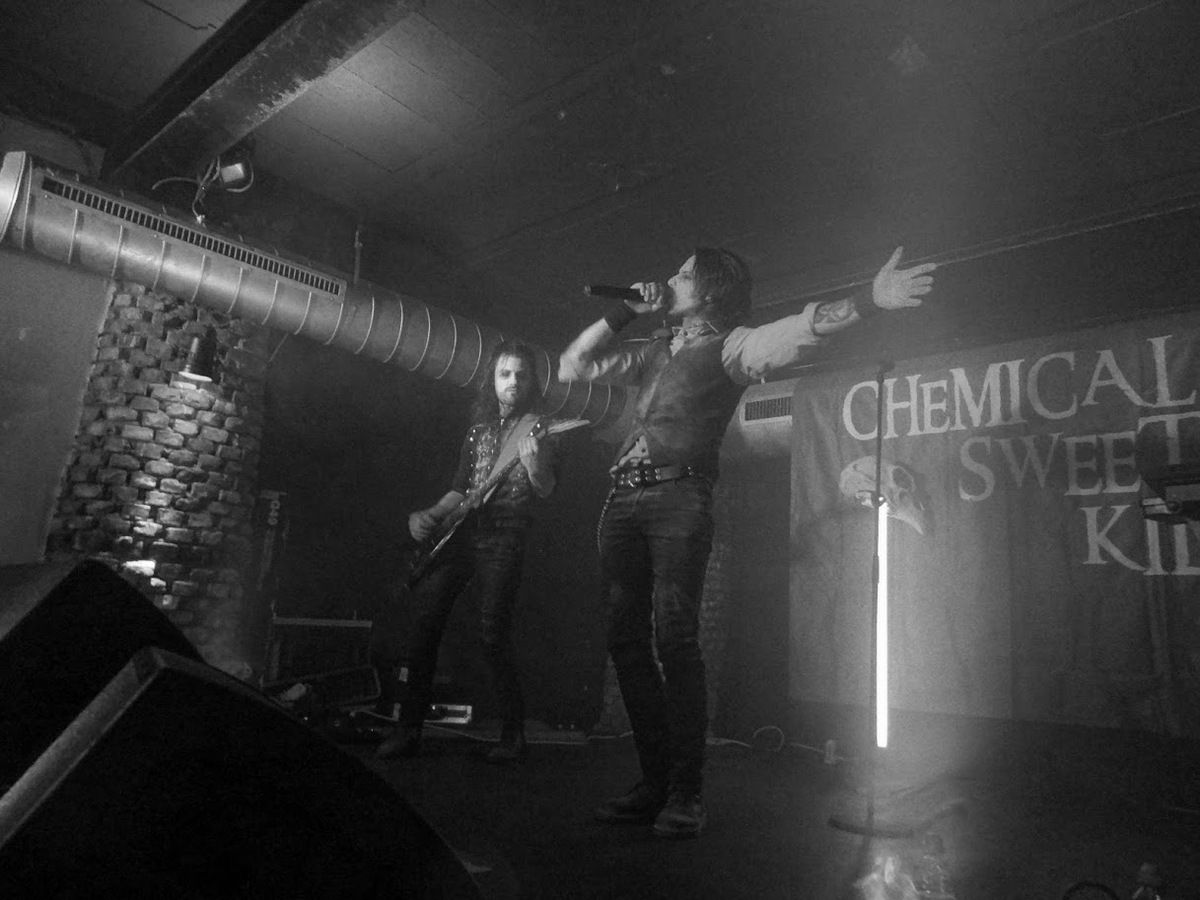 Chemical Sweet Kid @ Rock Classic - Bruxelles- le 6 mai 2016