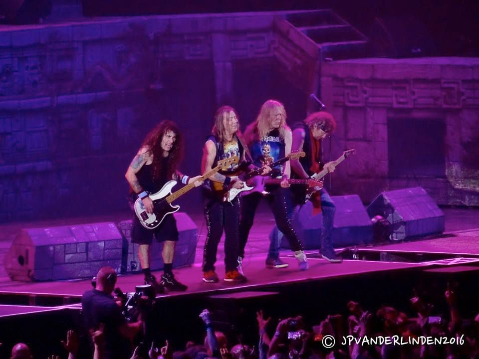 Iron Maiden - The Book Of Souls World Tour - 2016 - Gelredome - Arnhem ( NL)- le 8 juin 2016