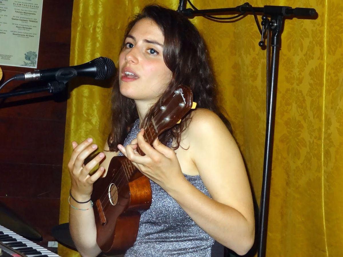 Marta Rosa au Bonnefooi, Bruxelles, le 11 mai 2016