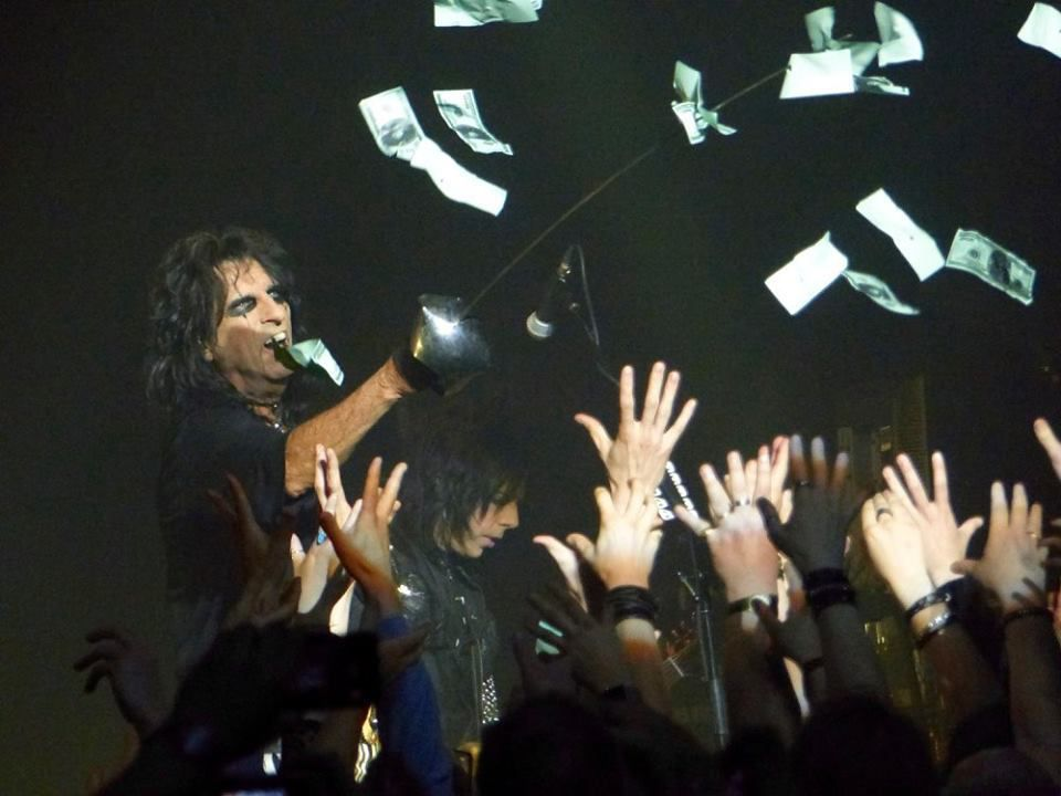 Spend The Night With ALICE COOPER - Cirque Royal - Bruxelles, le 21 juin 2016  BIS