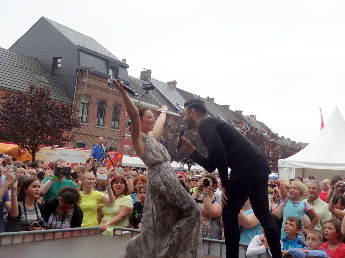LE BEAU VELO DE RAVeL avec La Voix de ses Maîtres, Florent Mothe et Natasha St-Pier - parking Saint-Roch de Nivelles- le 23 juillet 2016