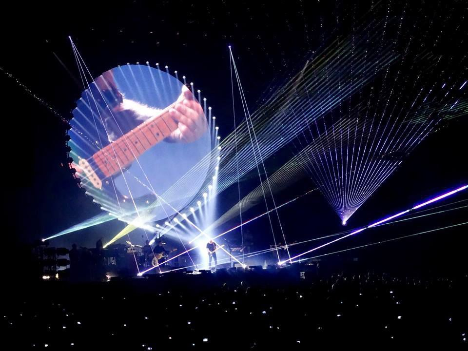 DAVID GILMOUR RATTLE THAT LOCK WORLD TOUR 2016 - Grote Markt - Tienen, le 28 juillet 2016