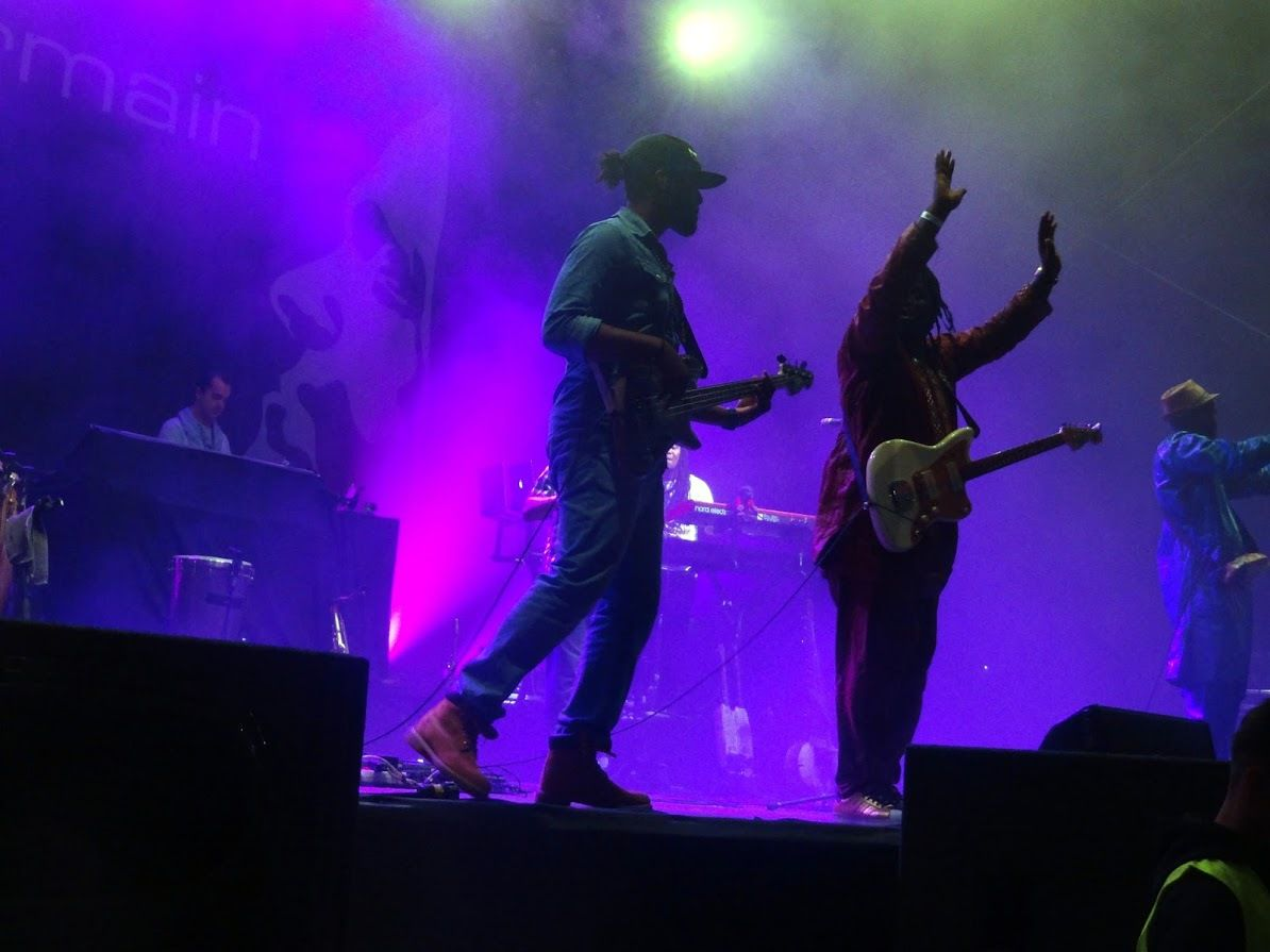Brussels Summer Festival ( day 4) - Songhoy Blues et St Germain au Mont des Arts ( Bruxelles) le 8 août 2016