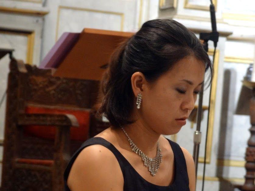 Gaëlle Caro Corbin, soprano et Yuri Higuchi, piano - Eglise St-Pierre de Plérin ( 22) - le 10 septembre 2016