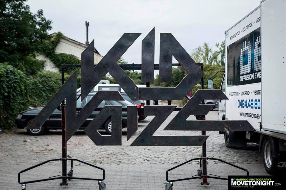 Kid Noize ( Release Party first album) - Gare de Calevoet- Uccle, le 29 septembre 2016