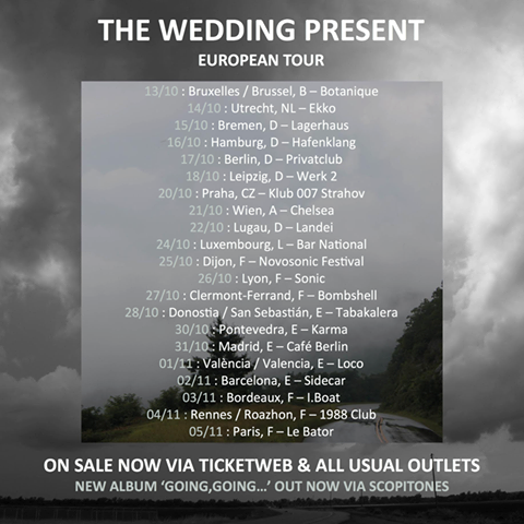 Wedding Present Setlist : The Wedding Present ? La Rotonde du Botanique, Bruxelles, le 13 ...